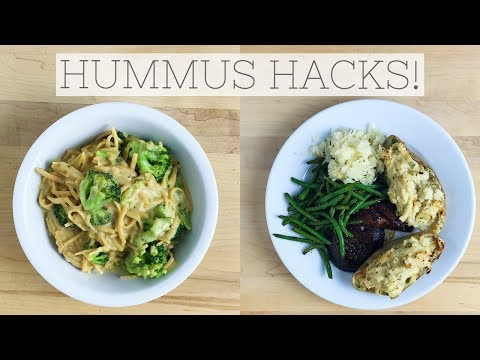 HUMMUS HACKS | Recipes Made Healthy with Hummus!