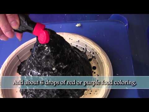 How to make a volcano - fun science experiment