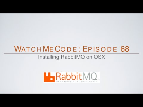 How to install RabbitMQ on OSX with Homebrew
