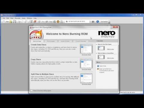 Burn Audio CD from MP3 or Wav File Recording With Nero Burning ROM 12