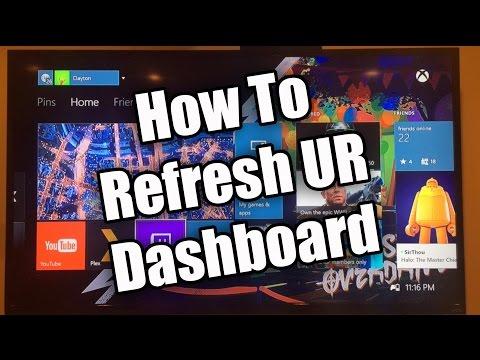 Refresh Your Xbox One Dashboard - Make Run Faster!
