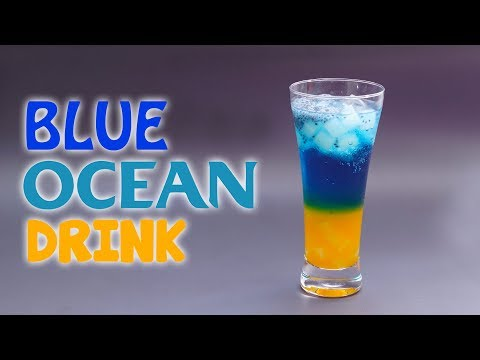 Cara Mudah Membuat Blue Ocean Drink