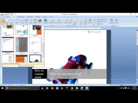 Microsoft Word 2007 Insert In Hindi and Urdu part 3