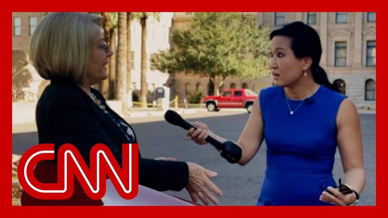 CNN confronts woman behind bogus Arizona election audit