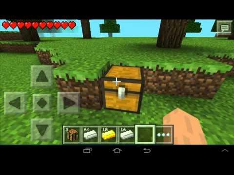 Diamand illimité Minecraft Pe 0.8.1