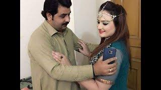 Neelam gul Husband Murad singing start ko    pashto dancer  neelam gul new vedio 2019