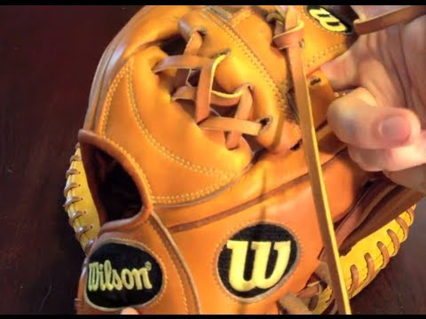 How to Relace a Mizuno I Web (Triple X)