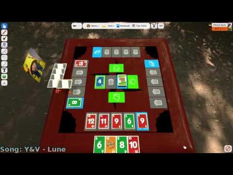 Playing Skip-Bo - Tabletop Simulator (Part 3)