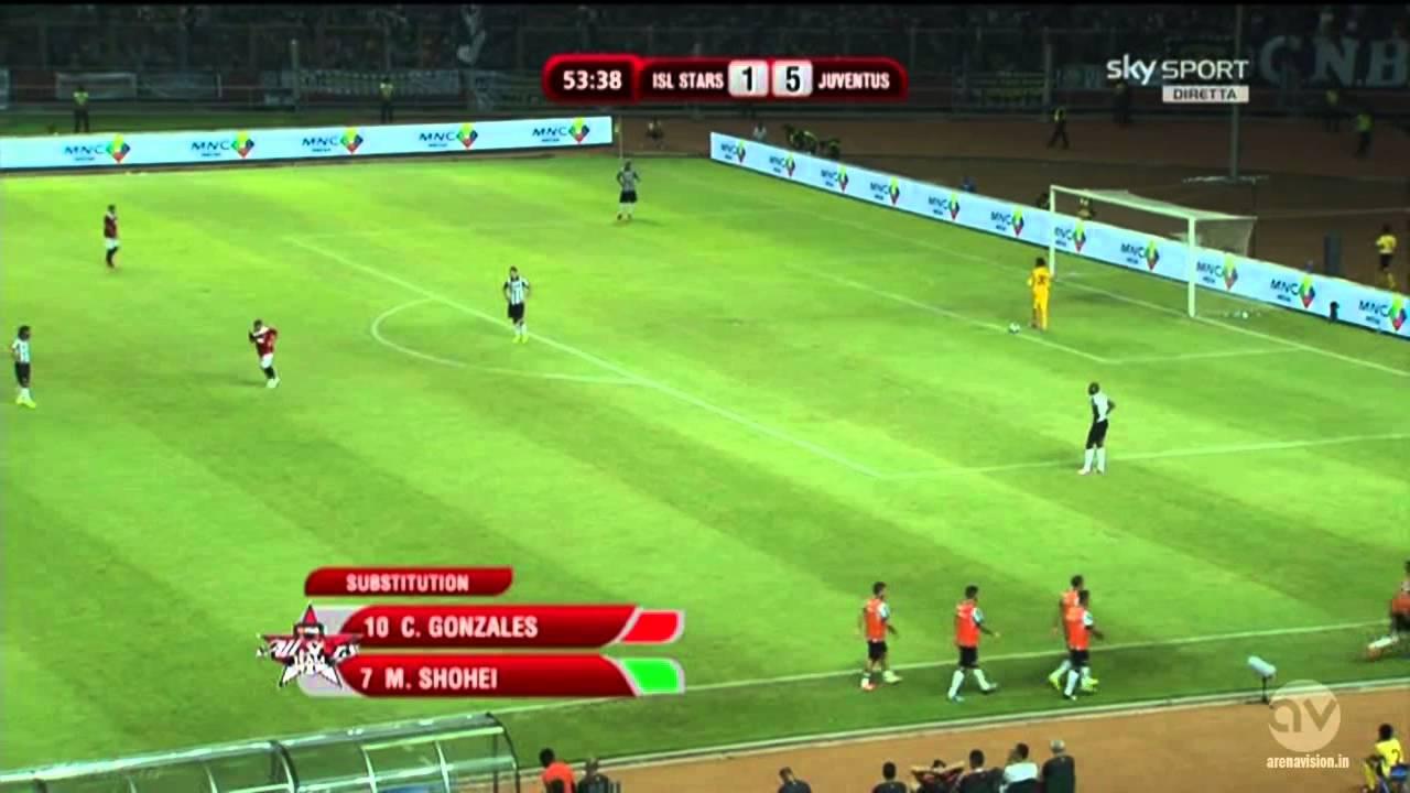 Juventus vs Indonesia 8-1 (07/08/2014)