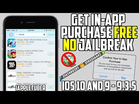 Get FREE in-App Purchases, Unlimited Coins iOS 10 & 9 - 9.3.5 (NO Jailbreak NO Computer)