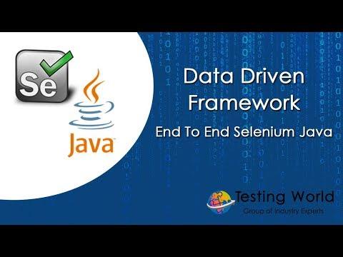 Data Driven Framework - End to End Selenium Java - Part10