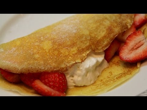 Crêpes - French Pancakes Recipe - CookingWithAlia - Episode 298