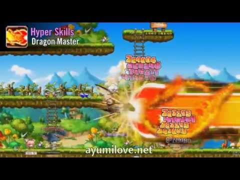 Ayumilove MapleStory Evan 1st, 2nd, 3rd, 4th Job Skill & Hyper Skills (2015)