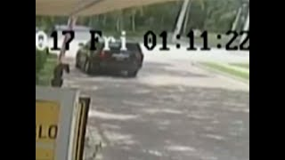 video shows venus williams car being struck