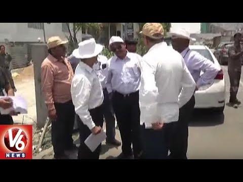 L&T Officials Speedup Hyderabad Metro Rail Second Phase Works | V6 News