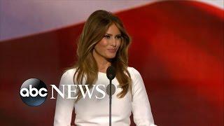 Melania Trump Speech at the Republican Convention