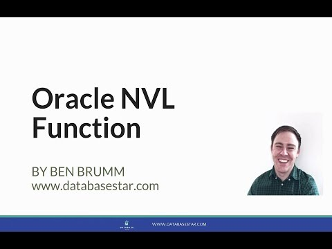 Oracle NVL Function Explained with Examples