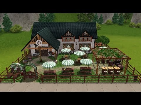 Sims 3 - Making of... Arica's Beer Garden