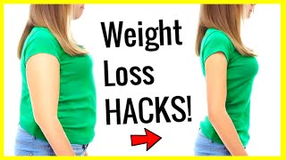 10 Weight Loss Life Hacks To Lose Weight Fast And Easy Tips That Actu