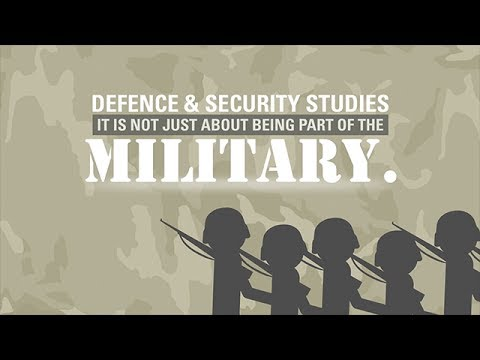 What is Defence and Security Studies? | Massey University