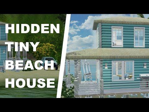 The Sims 3 House Building - Tiny Hidden Beach House