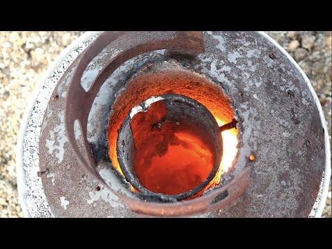 How to Make an Aluminum Foundry - Backyard Scientist