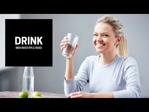 5 Helpful Tips To Trick Your Body Into Drinking More Water ✓