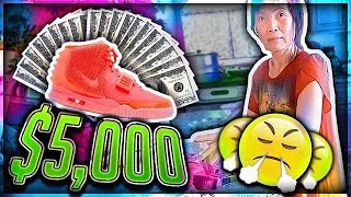 Mom Freaks Out at me for Buying $5,000 Shoes