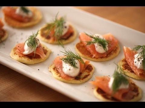 Beth's Salmon Blinis || Kin Eats