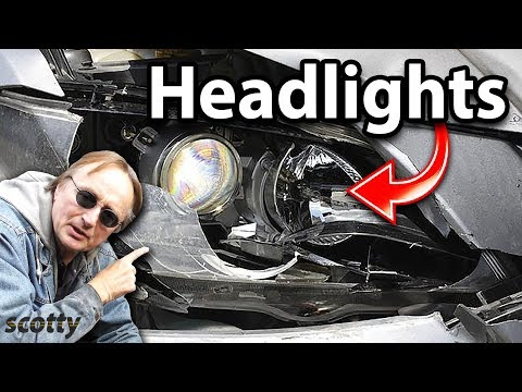 How to Replace Broken Headlight Assembly in Your Car