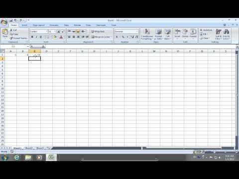 How to remove Excel 2007 Formula and keep data