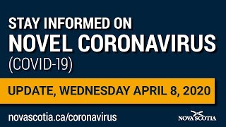 Update COVID-19 for Nova Scotians: Wednesday April 8