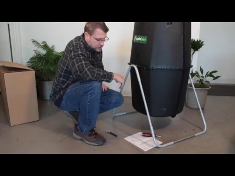 How to Assemble the Spin Bin Tumbling Composter