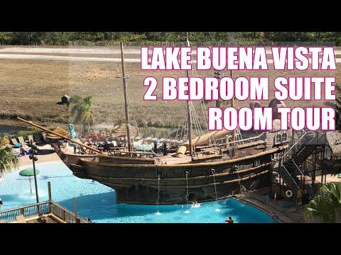 Lake Buena Vista Resort 2 Bedroom Suite Room Tour   Family Travel In Orlando Florida