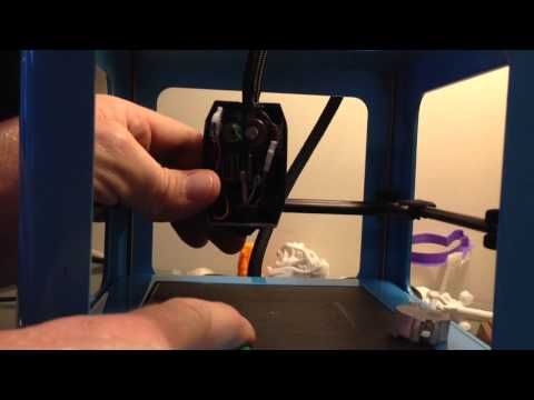 The Micro 3D printer beta -- How to unclog the print nozzle