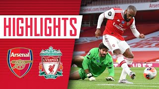 HIGHLIGHTS | Arsenal 2-1 Liverpool | Premier League | Lacazette, Nelson, Mane
