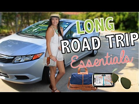 Long Road Trip Essentials:  Cross Country Edition!