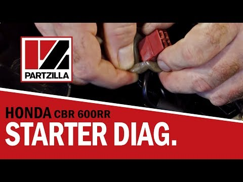 How to Diagnose Starter Problems on a Honda CBR 600 RR | Partzilla.com