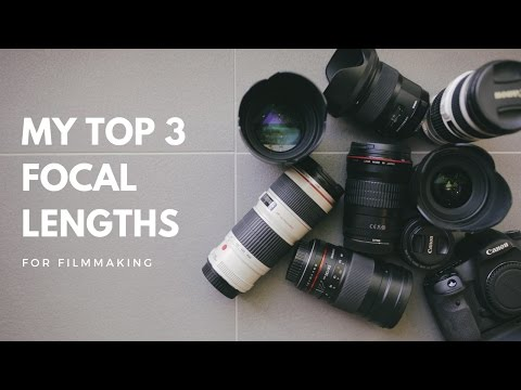 The Best Lenses For Video (my favourite focal lengths)