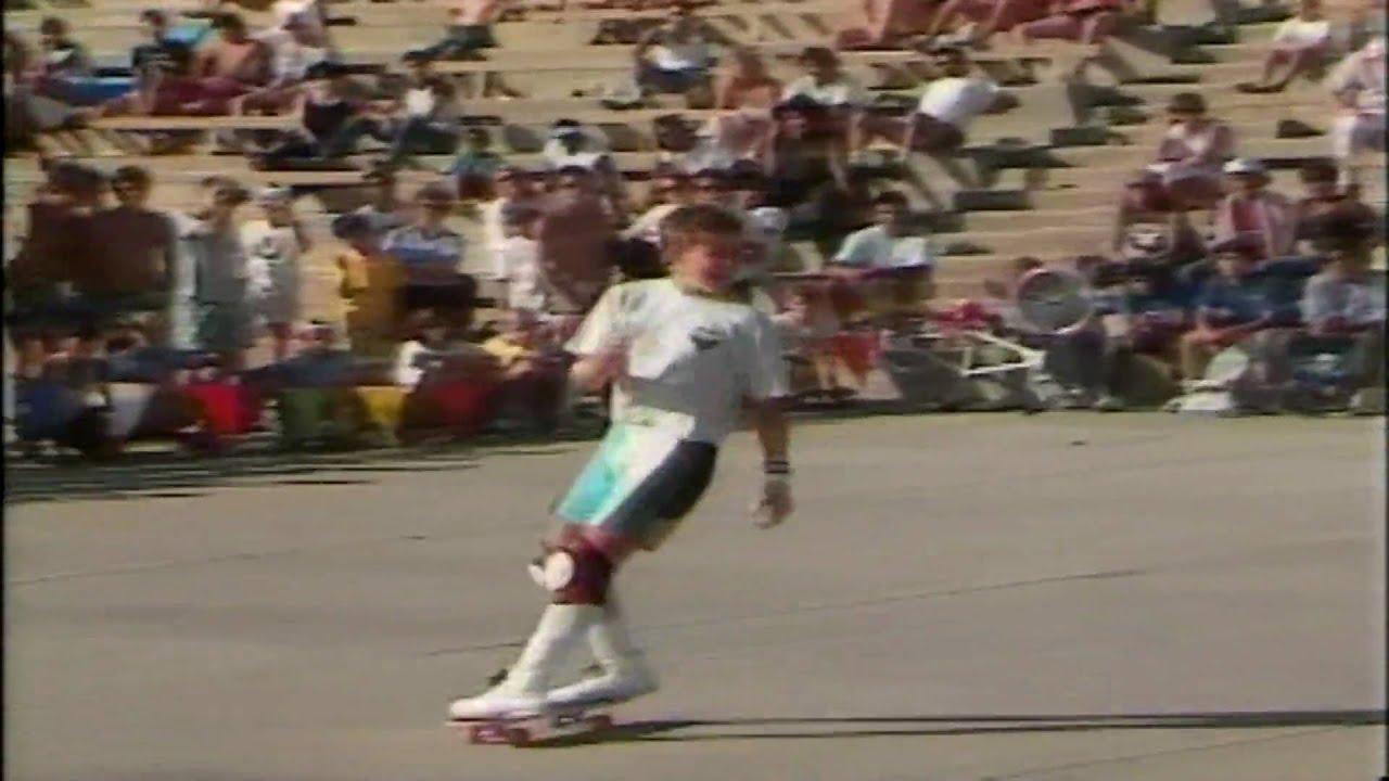 Rodney Mullen - Freestyle Contest Oceanside 1986