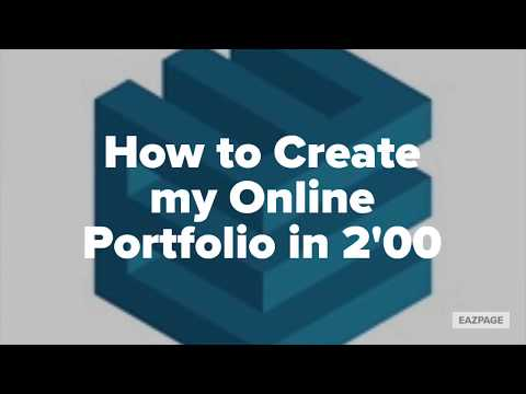 [Tuto] How to Create an Online Portfolio or Photo Album Easily with Eazpage