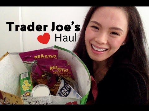 TRADER JOE'S HAUL | Snacks!