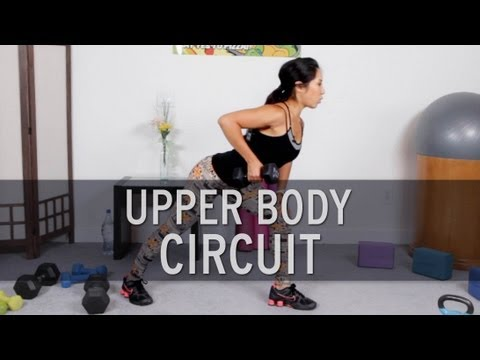 Upper Body Fat Burning Workout