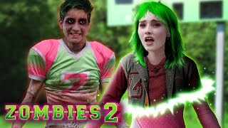Disney Z-O-M-B-I-E-S 2: Addison turns into a Zombie! Did Zed bite her? 💚💗 Edit!