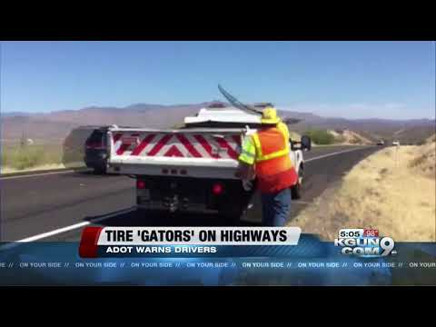 ADOT warns about tire treads on highways as temperature heat up