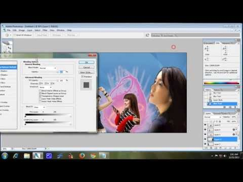 PHOTOSHOP : HOW TO CREATE BANNER ON PHOTOSHOP CS2