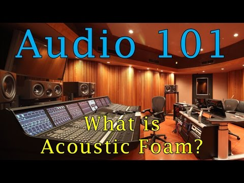 Soundproof A Room With Acoustic Foam!? (aka Studio Foam) How To Reduce Echos In a Room!