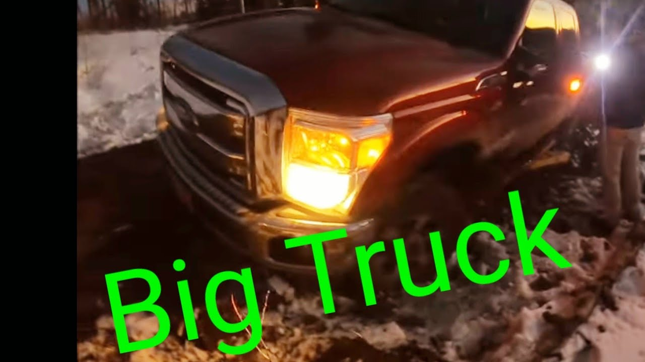 Stuck Ford Super Duty and Toyota on a Steep Mountain Road Casey's Off Road to the Rescue