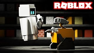 WALL-E RIDE IN ROBLOX!