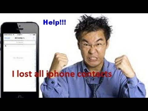 How to get your deleted contacts back on iphone 6